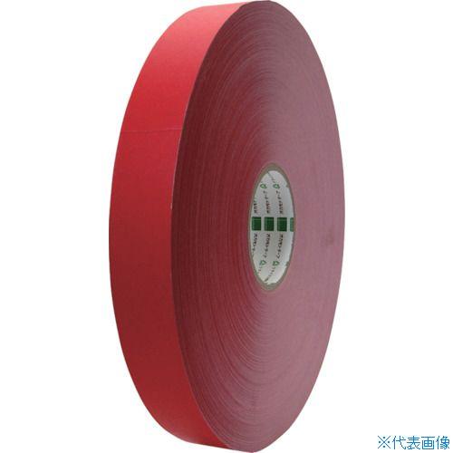 ■オカモト クラフトテープ NO224WC環境思いカラー長尺 赤38ミリ×500M 6巻入 〔品番:224WC38500R〕[TR-8080996×6]
