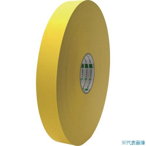 ■オカモト クラフトテープ NO224WC環境思いカラー長尺 黄38ミリ×500M 6巻入 〔品番:224WC38500Y〕[TR-8080998×6]