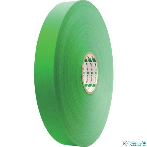 ■オカモト クラフトテープ NO224WC環境思いカラー長尺 緑50ミリ×500M《5巻入》〔品番:224WC50500G〕[TR-8081000×5]