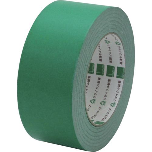 ■オカモト クラフトテープ NO228 ピュアカラー緑 50ミリ《50巻入》〔品番:228G50〕[TR-8081024×50]
