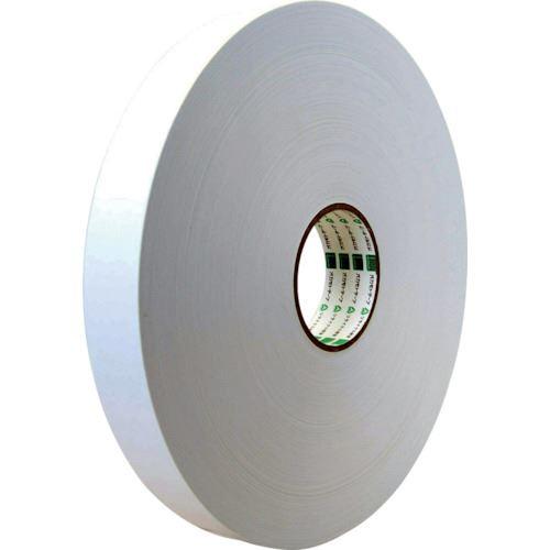 ■オカモト クラフトテープ NO228 ピュアカラー長尺 白 38ミリ×500M《6巻入》〔品番:228W38500〕[TR-8081039×6]