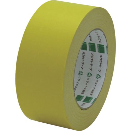 ■オカモト クラフトテープ NO228 ピュアカラー黄 50ミリ《50巻入》〔品番:228Y50〕[TR-8081048×50]