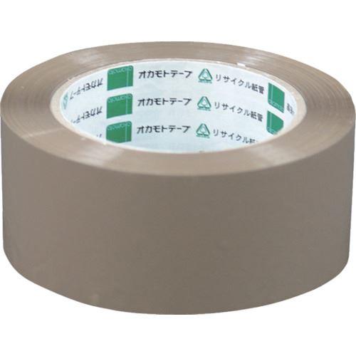 ■オカモト OPPテープ NO333 クリーム 48ミリ《50巻入》〔品番:333CR48〕[TR-8081069×50]