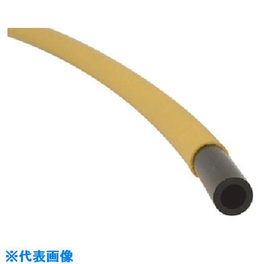 ■チヨダ エルフレックスLEーSタイプ 6mm/100m 黄〔品番:LE-S6-100〕[TR-8083044]
