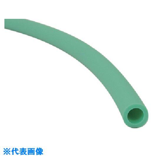 ■チヨダ TE-AF型スパッタチューブG(緑)8mm/100m〔品番:TE-8-AF-G-100〕[TR-8084127]