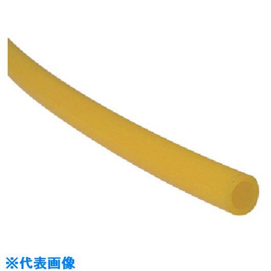 ■チヨダ TPタッチチューブ 12mm/100m 黄〔品番:TP-12-100〕[TR-8084554]
