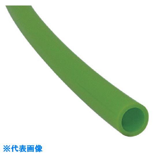 ■チヨダ メガタッチチューブ 10mm/100m ライトグリーン〔品番:MTP-10-100〕[TR-8084734]
