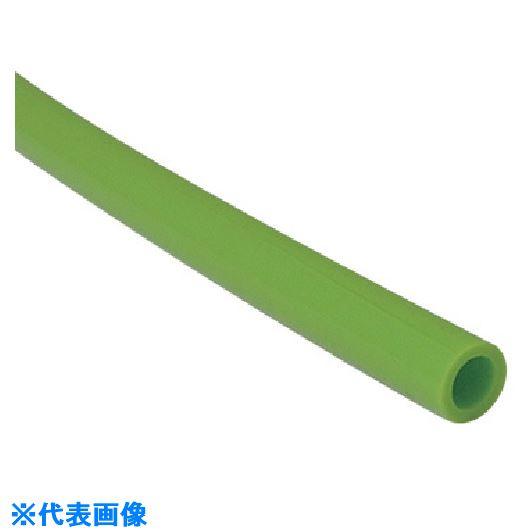■チヨダ タッチチューブTP 6mm/100m ライトグリーン〔品番:TP-6-100〕[TR-8084752]