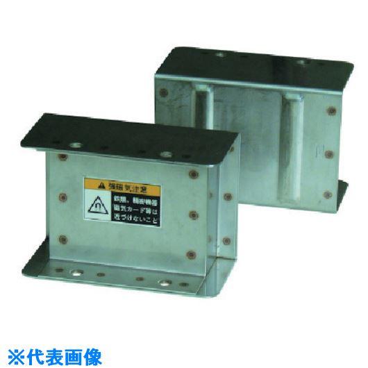 ■カネテック マグネットフローター鉄板分離〔品番:KF-10〕[TR-8086011]