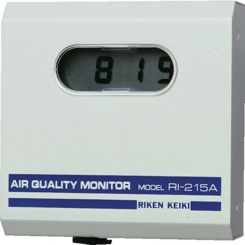 ■理研 CO2モニター  〔品番:R1-215A〕[TR-8093645]【個人宅配送不可】