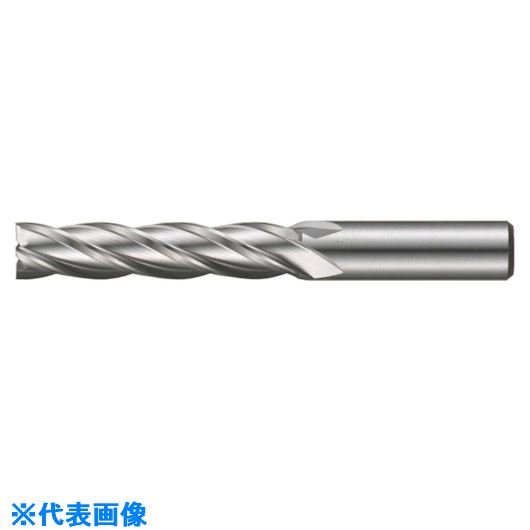 ■FKD 3Sエンドミル4枚刃(ロング刃)39.0  〔品番:4LF-39.0〕掲外取寄[TR-8100992]