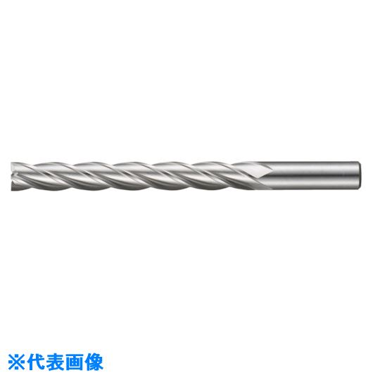 ■FKD 3Sエンドミル4枚刃(特ロング刃)26.5×100  〔品番:4XLF-26.5X100〕取寄[TR-8101531]