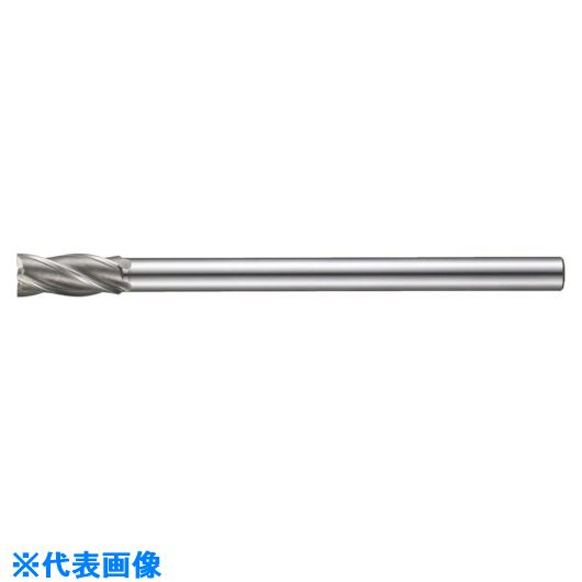■FKD 特ロングシャンクエンドミル4枚刃10.5×200  〔品番:XLS-4SF-10.5X200〕[TR-8103750]