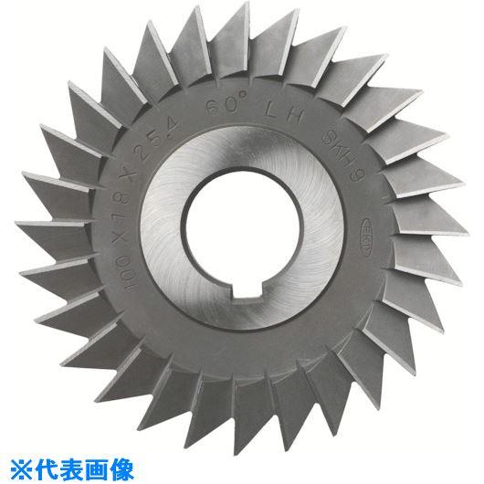 ■FKD シングルアングルカッター(左刃)60°×125×10×25.4  〔品番:AC-LH-60X125X10X25.4〕[TR-8104209]