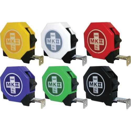 ■プロマート MK2 PLUS19 5.5m 6色セット 12個入《4箱入》〔品番:MKPS1955〕[TR-8109808]