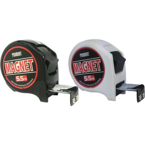 ■プロマート MK2 MAG25 5.5m 白黒セット 12個入《4箱入》〔品番:MMK2555〕[TR-8109816]