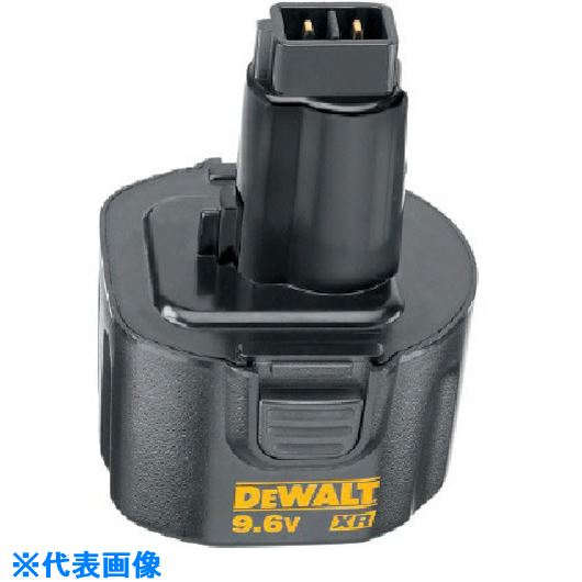 ■デウォルト 9.6Vニカド充電池  〔品番:DE9062〕[TR-8110969]