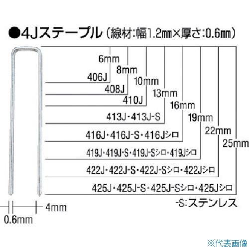 ■MAX ステープル 肩幅10mm 長さ8mm 5000本入り《30箱入》〔品番:1008J〕[TR-8111001]