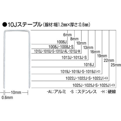 ■MAX ステープル 肩幅4mm 長さ6mm 5000本入り《50箱入》〔品番:406J〕[TR-8111004]