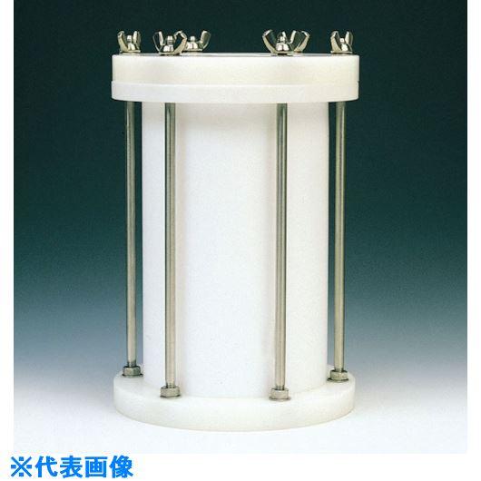 ■フロンケミカル フッ素樹脂 円筒型中圧用タンク 15000cc〔品番:NR0117-006〕[TR-8115258]