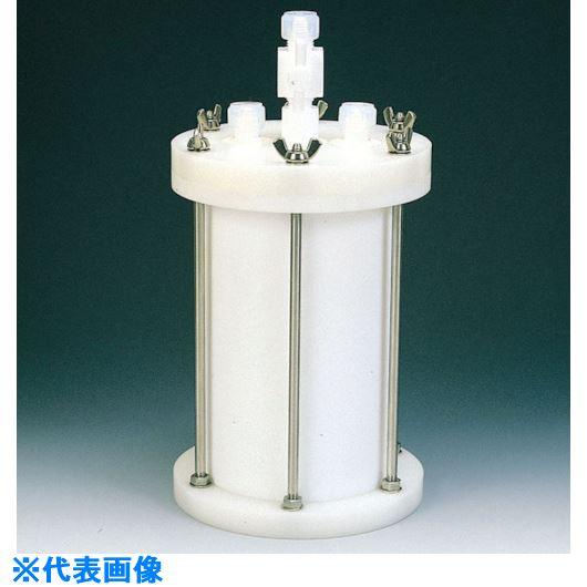 ■フロンケミカル フッ素樹脂 装置用円筒型容器B型 3000cc〔品番:NR0119-002〕[TR-8115280]