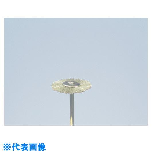 ■ヤナセ 精密ホイールブラシ ダイヤ砥粒入りユニロン 25x4x3x40#400《10個入》〔品番:B25HD〕[TR-8123557×10]
