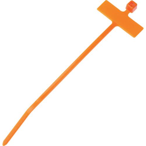 ■パンドウイット 旗型タイプナイロン結束バンド オレンジ (1000本入)〔品番:PLM1M-M3〕[TR-8146456]