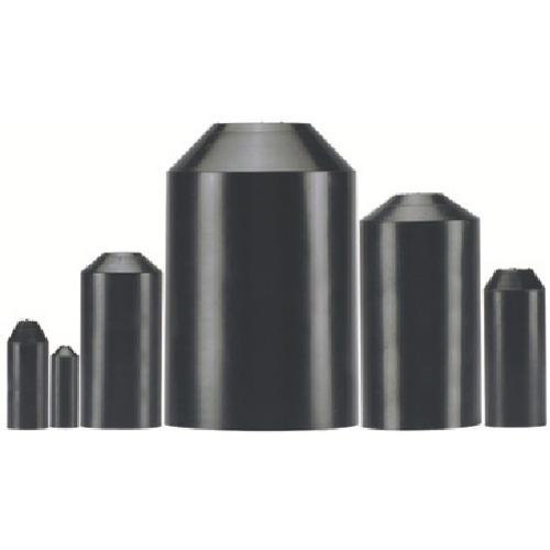 ■パンドウイット 肉厚タイプ熱収縮チューブ用エンドキャップ (10個入)〔品番:HSEC1.0-X〕[TR-8146543]