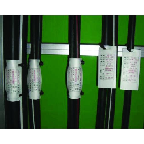 パンドウイットコーポレーション 表示用ラベル ■パンドウイット レーザープリンタ用マーカータグ (300本入)M413X194Y7L(8146552)]