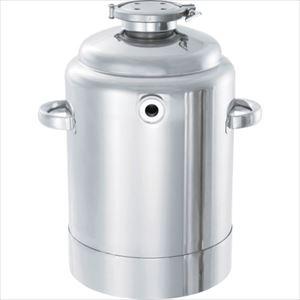 ■日東 ステンレスジャケット型加圧容器5L〔品番:PCN-J-05〕[TR-8147175]【個人宅配送不可】