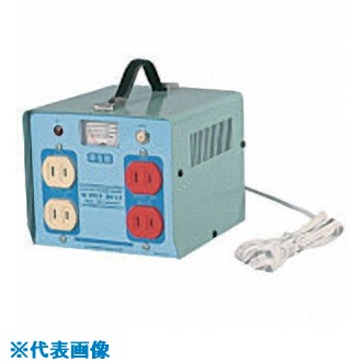 ■日動 100V昇圧器ハイパワー  〔品番:M-20S〕[TR-8147309]