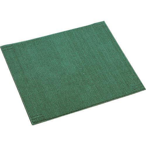 ■緑十字 吸油マット 緑 700×850MM ポリプロピレン ベース別売  〔品番:294041〕取寄[TR-8151798]