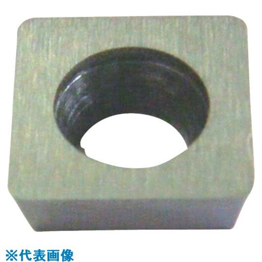 ■三和 ハイス面取りチップ四角90度ポジ11度穴有 10個入 〔品番:CHA12S11P〕[TR-8162057×10]