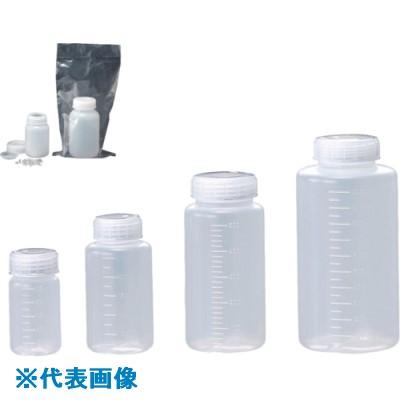 ■サンプラ 滅菌採水瓶(ハイポ入) 250ML広口  (100本入)〔品番:25426〕[TR-8162675]
