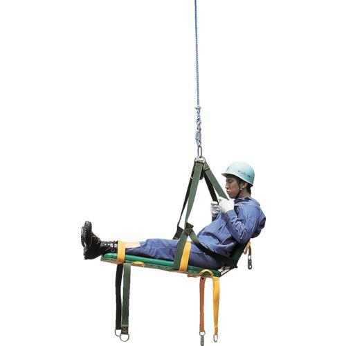 ?タイタン 救助用昇降担架 〔品番:H-8〕外直送元[TR-8163463]【個人宅配送不可】