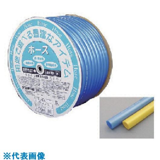 ■サンヨー エクセルホース15×20 ブルー 50Mドラム巻  〔品番:ES-1520D50B〕[TR-8163634]