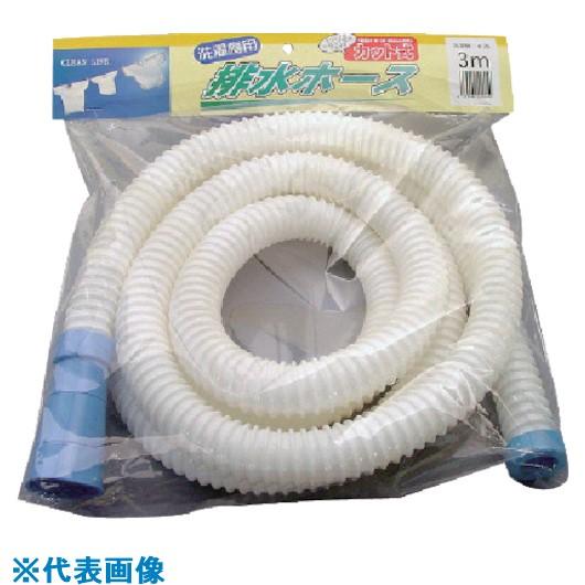 ■サンヨー 洗濯機用排水ホース30MM 4M 10袋入 〔品番:SH-30L4W〕[TR-8163721×10]