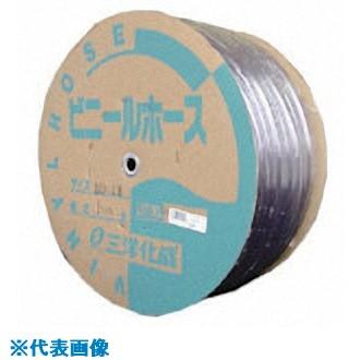 ■サンヨー 透明ホース10×14 100Mドラム巻  〔品番:TM-1014D100T〕[TR-8163752]