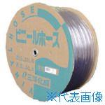 ■サンヨー 透明ホース15×19 50Mドラム巻  〔品番:TM-1519D50T〕[TR-8163755]