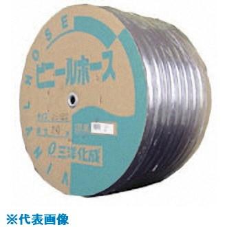 ■サンヨー 透明ホース25×30 45Mドラム巻  〔品番:TM-2530D45T〕[TR-8163765]