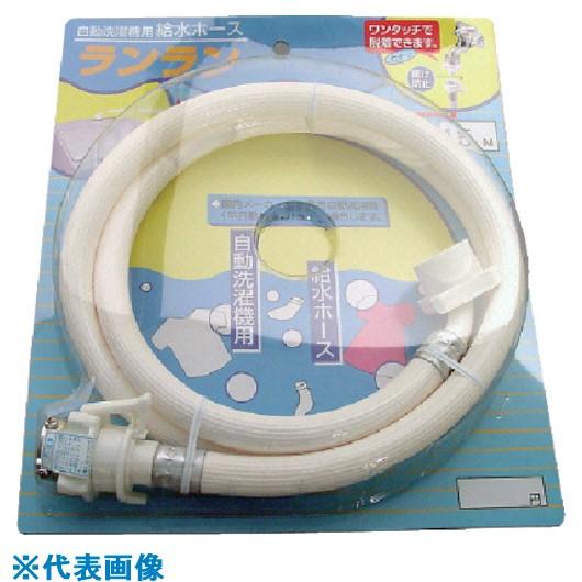 ■サンヨー 全自動洗濯機用給水ホース3M 12本入 〔品番:ZR-L3W〕[TR-8163796×12]