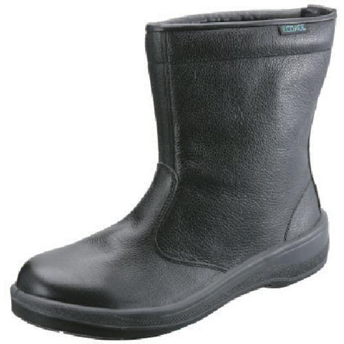 ■シモン 安全靴 半長靴 ECO44黒 27.5CM  〔品番:ECO44-27.5〕[TR-8166199]