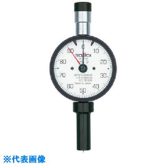 ■テクロック ゴム・プラスチック硬度計  〔品番:GS-719H〕[TR-8167818]