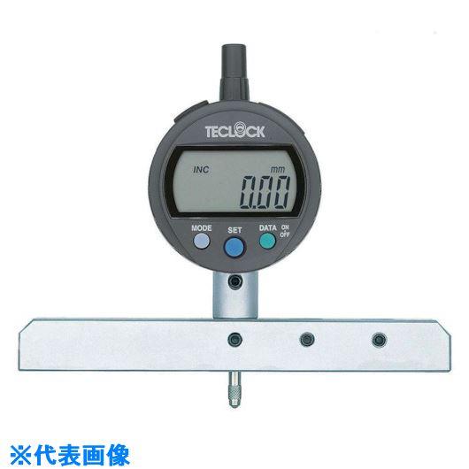流行 ?テクロック デジタルデプスゲージ 測定範囲12MM〔品番:DMD-293J〕[TR-8167850]:ファーストFACTORY-DIY・工具