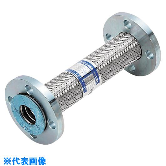 ■NFK  加圧送水装置用 10Kタイプフレキ  継手SS400 100Ax600〔品番:NK9510-100-600〕[TR-8172593]