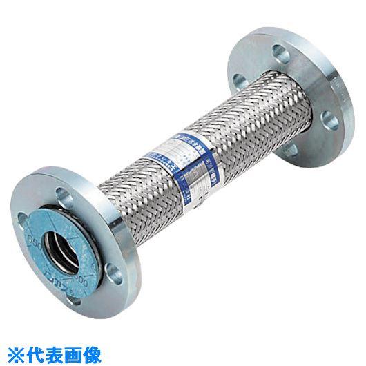 ■NFK  加圧送水装置用 10Kタイプフレキ  継手SS400 80Ax1000〔品番:NK9510-80-1000〕[TR-8172667]