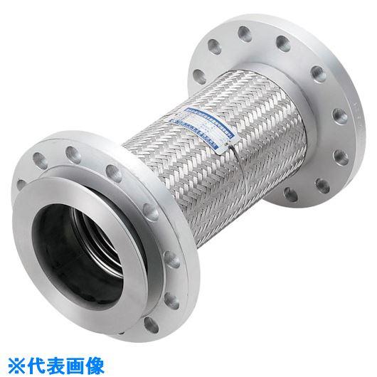 ■NFK 加圧送水装置用 20Kタイプフレキ 継手SS400 40Ax300L〔品番:NK9520-40-300〕[TR-8172709]