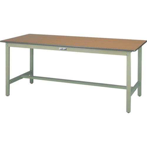 ■ヤマテック ワークテーブル300シリーズ高さ調整タイプW600×D600×H600~900〔品番:SWPA-660-MG〕[TR-8178245]【個人宅配送不可】