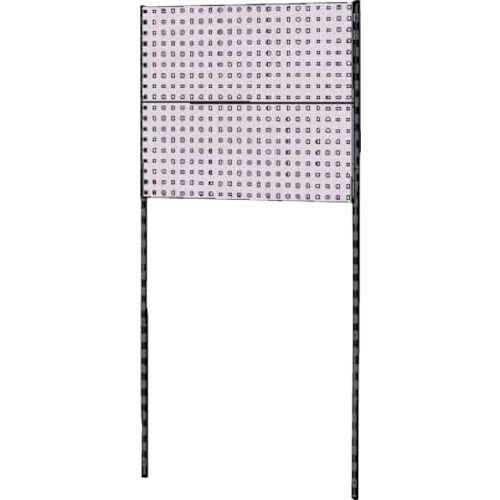 ■ヤマテック 壁面ハンガーパネルシステム W900タイプ単体〔品番:WH-0918-P2〕[TR-8178327]【個人宅配送不可】