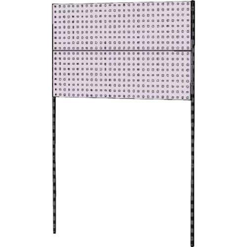 ■ヤマテック 壁面ハンガーパネルシステム W1200タイプ単体〔品番:WH-1218-P2〕[TR-8178349]【個人宅配送不可】